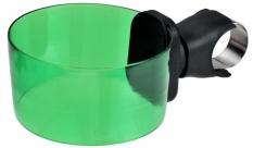 Uchwyt do kubka na kierownicę zielony
