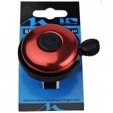Dzwonek rowerowy M-Wave czerwony