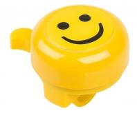 Dzwonek rowerowy M-Wave buźka żółty