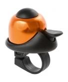 Dzwonek rowerowy M-Wave mini pomarańczowy