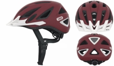 Kask rowerowy Abus Urban-i v.2 zoom M red