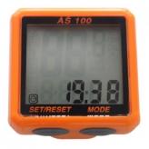 Licznik rowerowy przewodowy Assize AS100 pomarańczowy