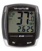 Licznik rowerowy bezprzewodowy M-Wave M14W