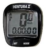Licznik rowerowy Ventura 10f czarny
