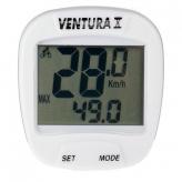 Licznik rowerowy Ventura 10f biały