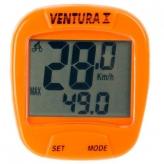 Licznik rowerowy Ventura 10f pomarańczowy