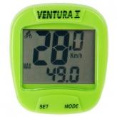 Licznik rowerowy Ventura 10f zielony