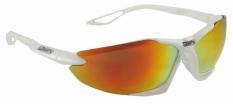 Okulary mighty bike / sports białe wymienne soczewki