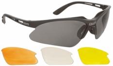Okulary mighty bike / sports navy wymienne soczewki