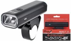 Lampka rowerowa przednia Prox Aero F III czarna USB