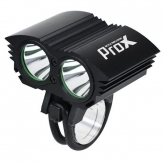 Lampka rowerowa przednia Prox Dual I Power czarna