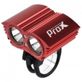 Lampka rowerowa przednia Prox Dual I Power czerwona