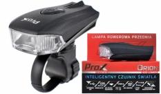 Lampka rowerowa przednia Prox Orion USB