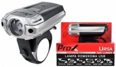 Lampka rowerowa przednia Prox Ursa USB czarna