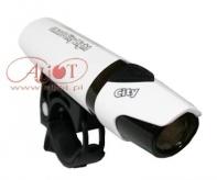 Lampa przód smart 1 led super jasna, biała, soczewka, mini, 1 x aa bateria bl183wos-7-02