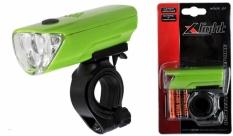 Lampa przód x-light 3 led + 3xaaa (xc-104a) zielona