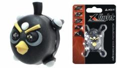 Lampka rowerowa przednia X-light Angry Bird czarny jy-267-n