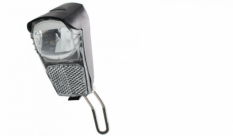 Lampa przód x-light reflektor 01w led (7 lux) jy7008f z odblaskiem 2xaa baterie