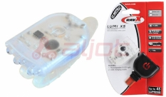 Lampa ravx tylna lumi x5 ładowalna usb obud. przezroczysta