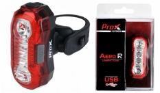 Lampa tył Prox Aero r 2-LED 0,5w usb