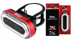 Lampka rowerowa tylna Prox Iris LED cob USB