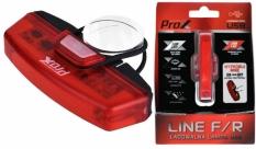 Lampa tył Prox line r LED cob czerwona usb