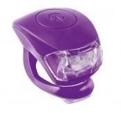 Zestaw lamp m-wave  cobra iv przód+tył fioletowy ( produkt na zamówienie )