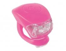 Zestaw lamp m-wave  cobra iv przód+tył różowy ( produkt na zamówienie )