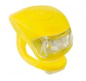 Zestaw lamp m-wave  cobra iv przód+tył żółty ( produkt na zamówienie )