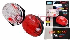 Zestaw lamp smart przód + tył ls040-01