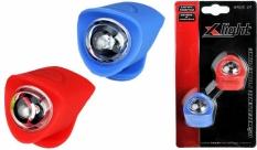 Zestaw lamp x-light diodowych silcon (xc-134) niebiesko-czerwona