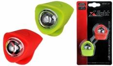 Zestaw lamp x-light diodowych silcon (xc-134) zielono-czerwona