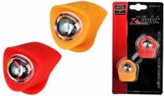 Zestaw lamp x-light diodowych silcon (xc-134) żółto-czerwona