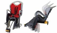 Fotelik rowerowy na tył automat regulowane oparcie
