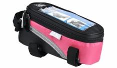 Torebka rowerowa na telefon M-Wave różowa