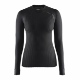 Koszulka craft dł. rękaw active extreme 2.0 cn ls r.l czarna damska 1904491 9999-l black