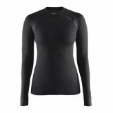 Koszulka craft dł. rękaw active extreme 2.0 cn ls r.m czarna damska 1904491 9999-m black