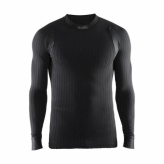 Koszulka craft dł. rękaw active extreme 2.0 cn ls r.xl czarna męska 1904495 9999-xl black