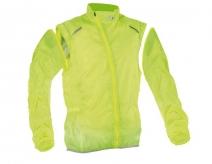 Kurtka rowerowa wind jacket żółta xxl ( produkt na zamówienie )