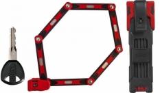 Zapięcie Abus Bordo 6000/90 czerwone 526336