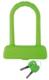 Zapięcie rowerowe M-Wave  U-Lock B189 silikon zielone