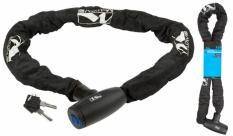 Zapięcie rowerowe M-Wave łańcuch 10x1100 kluczyk