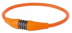 Zapięcie rowerowe M-Wave 12x900 szyfr pomarańczowe