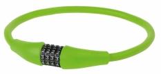 Zapięcie rowerowe M-Wave 12x900 szyfr zielone