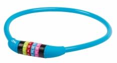 Zamknięcie m-wave spirala 12mm x 650 szyfr silikon niebieskie