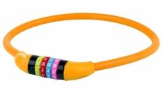 Zamknięcie m-wave spirala 12mm x 650 szyfr silikon pomarańczowe