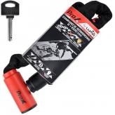 Zamknięcie prox enduro8 8x1000 mm. czerwone kluczyk łańcuchowe
