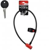 Zamknięcie prox pętla 12x850 mm. czerwone kluczyk