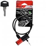 Zamknięcie prox pętla 5x600 mm. czerwone kluczyk