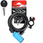 Zamknięcie prox spirala 10x1800 mm. niebieskie kluczyk